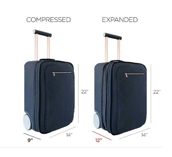 Marlon Carry-on Luggage Delivers More Spacious Room