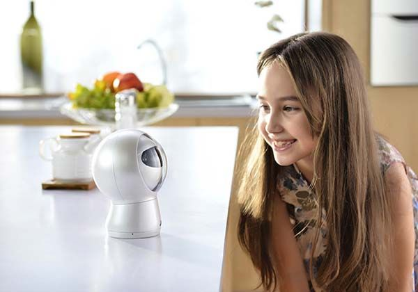 Moorebot Robotic Personal Assistant with Voice Recognition and Camera