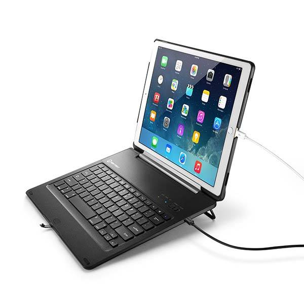 New Trent Airbender Apex 12.9-Inch iPad Pro Keyboard Case