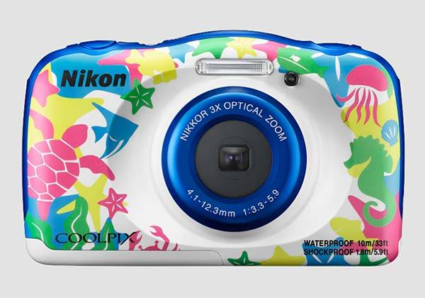 Nikon Coolpix W100 Waterproof Camera
