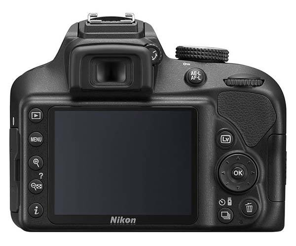 Nikon D3400 Entry-Level DSLR Camera with SnapBridge