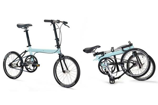 pakiT Lightweight Folding City Bike