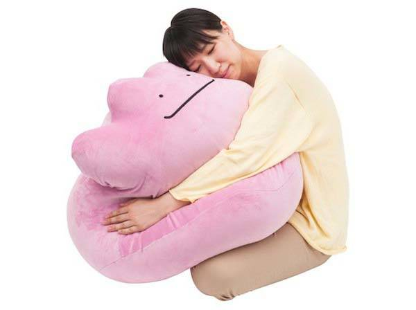 Giant Pokemon Ditto Cushion