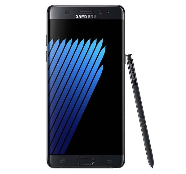 Samsung Galaxy Note 7 with Iris Scanner and USB-C