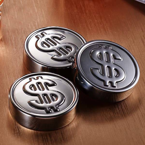 The Coin Shaped Stainless Steel Ice Cubes