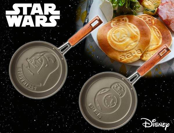 Star Wars BB-8 and Darth Vader Frying Pans