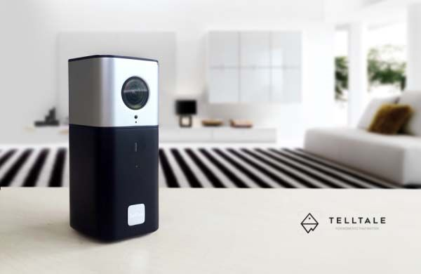 TellTale Home Security Camera Works as Action Camera