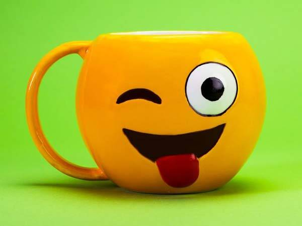Emoji Inspired Coffee Mugs