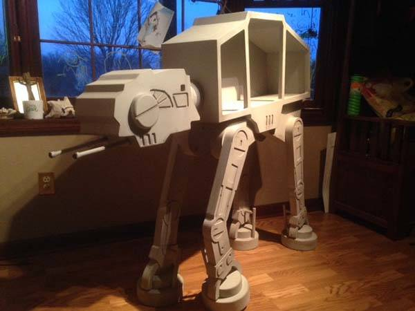 Handmade Star Wars AT-AT Showcase