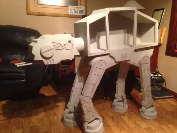 Handmade Star Wars AT-AT Showcase