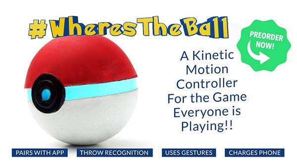 The Pokeball Game Controller with Power Bank