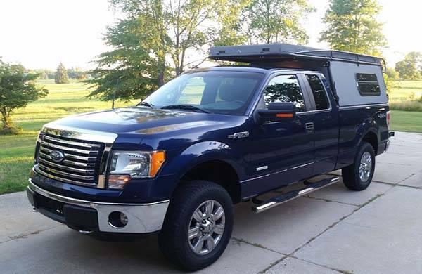 Turn a Pickup Truck into Truck Camper