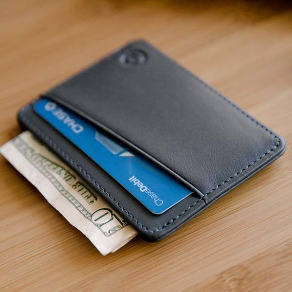 Tyni Slim Leather Wallet with RFID