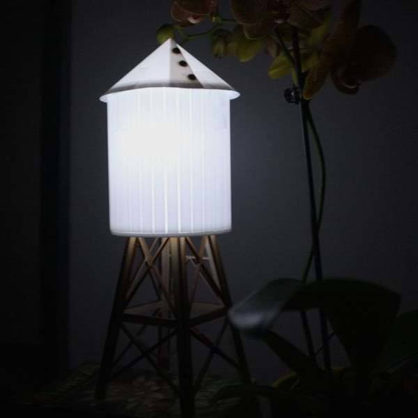 Water Tower Night Light