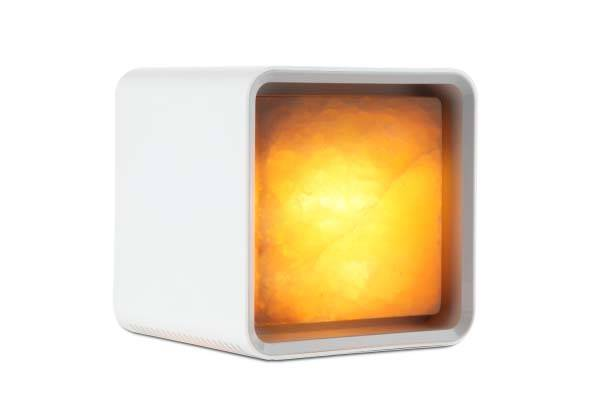 Zencube App-Enabled Himalayan Salt Lamp with Aroma Diffuser