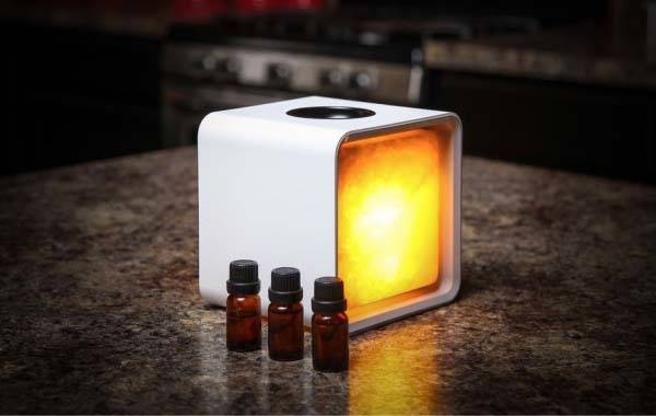 Zencube App Enabled Himalayan Salt Lamp With Aroma
