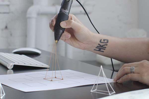 3Doodler Pro Professional Grade 3D Printing Pen