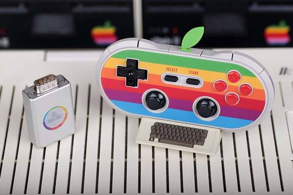 8bitdo AP40 Classic Apple Logo Inspired Bluetooth Game Controller