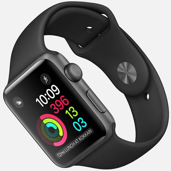 Apple Watch Series 2 Smartwatch with GPS, Swimproof Design ...