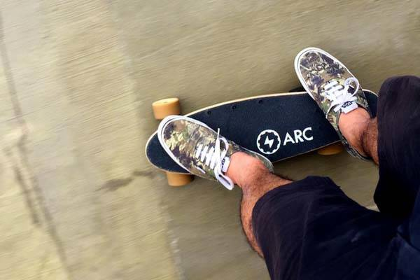 Arc Board Lightweight and Compact Electric Skateboard