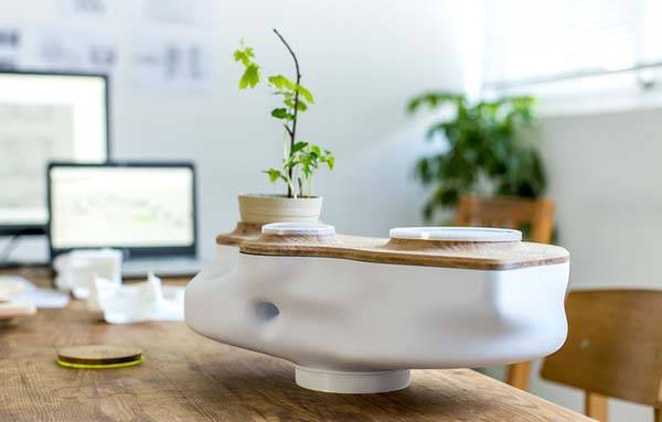 Biovessel Indoor Ecosystem Powered by Food Waste