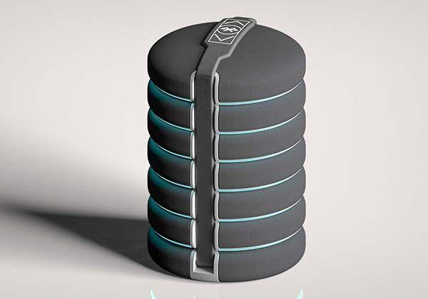 Encircle Stackable Bluetooth Speaker System