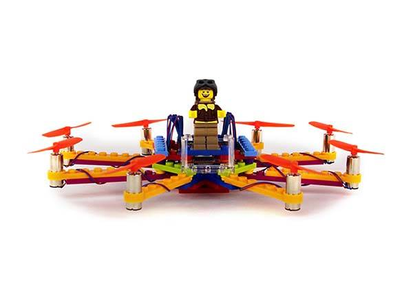 Flybrix Flying Drone Kit for LEGO Bricks