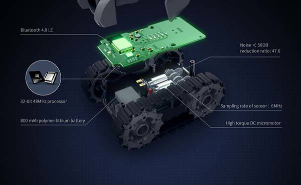 Galaxy ZEGA App-Controlled Mobile Tanks