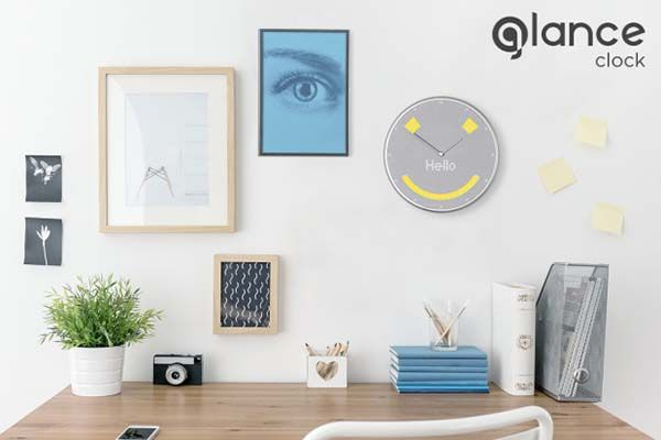 Glance Smart Wall Clock