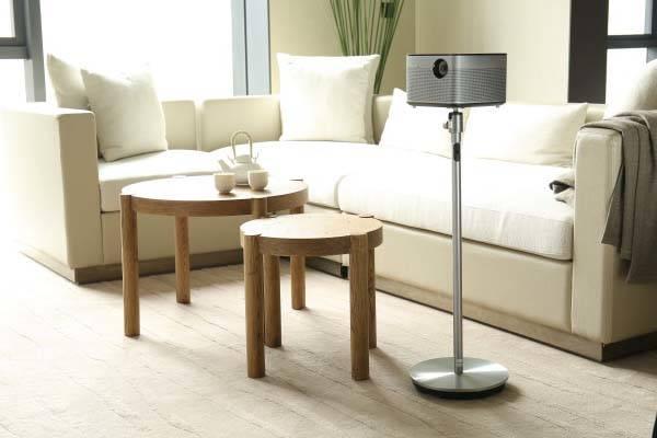 H1 Smart Projector with Hartman Kardon Bluetooth Speaker