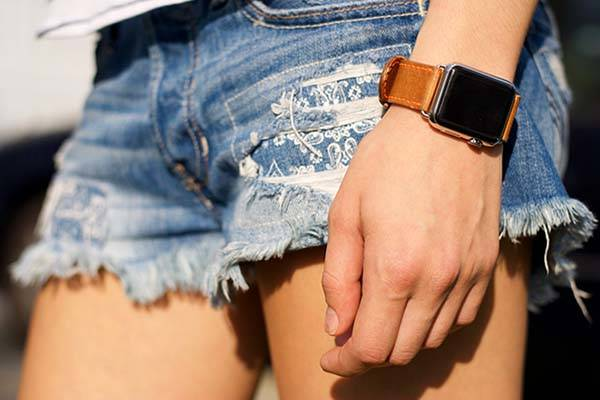 Handmade Leather Apple Watch Band