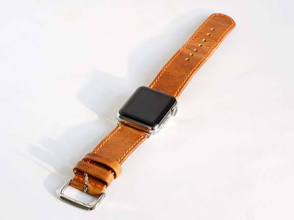 Handmade Leather Apple Watch Band