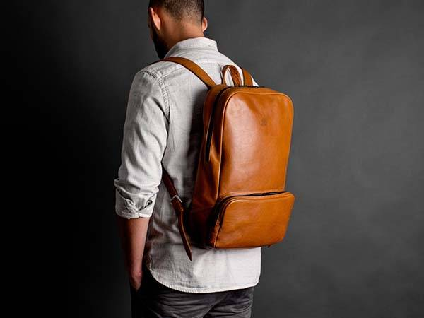 Handmade Urban Styled Leather Backpack