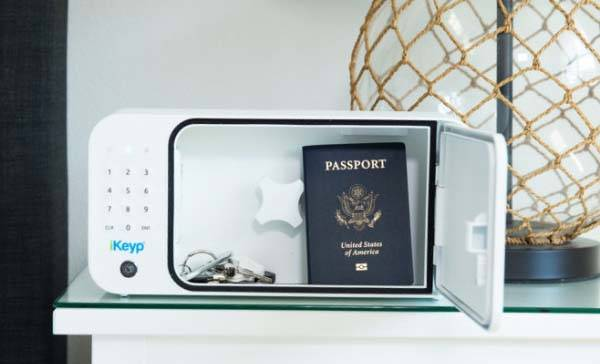 iKeyp Portable Smart Personal Safe Protects Medications and Valuables from Others