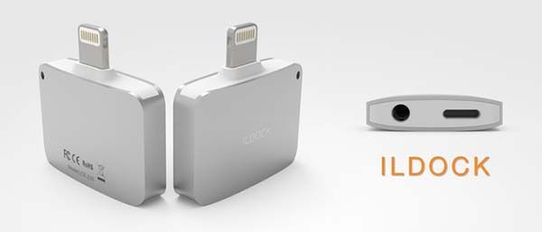 iLDOCK Plus Lightning Adapter with Audio, USB Ports, Memory Card Slots