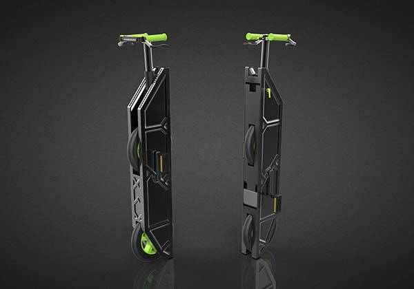 JIB Ultra Compact Folding Bike