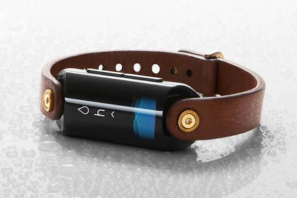 LVL Wearable Hydration Monitor with Fitness Tracker