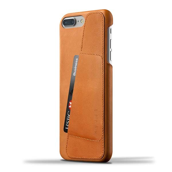 Mujjo Leather Wallet iPhone 7 Plus Case