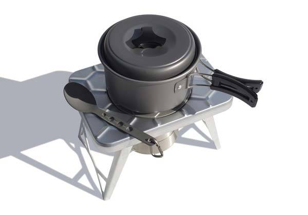 nCamp Portable Collapsible Camping Stove