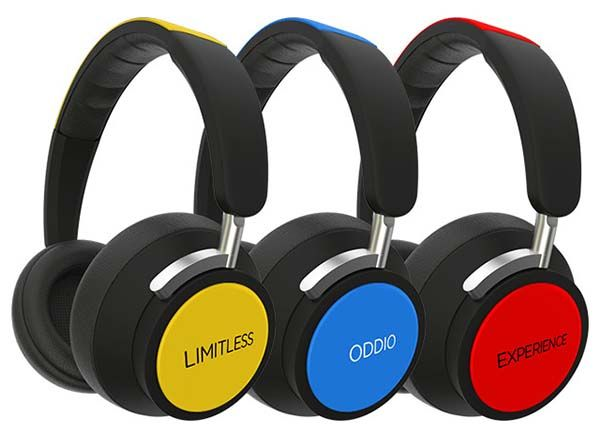 ODDIO Modular Headphones with Optional Bluetooth and Noise-Cancelling Modules