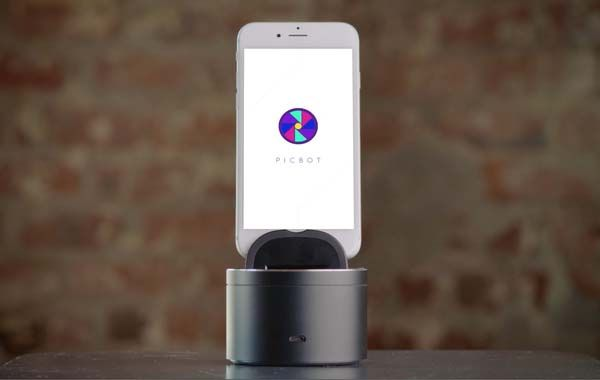 Picbot App-enabled Automated Motorized Phone Mount