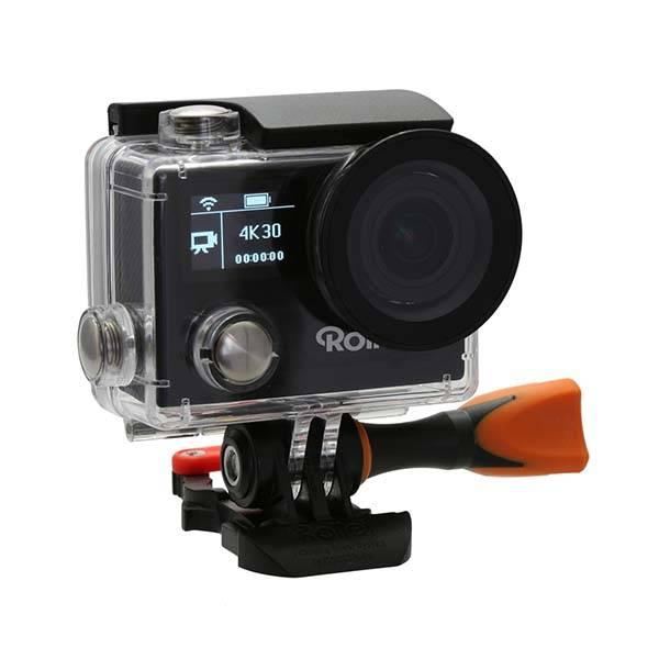 rollei actioncam 430 4k action camera boasts 170 degree. Black Bedroom Furniture Sets. Home Design Ideas