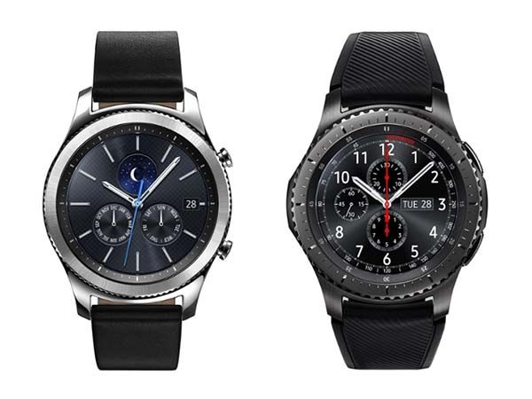 Samsung Gear S3 Frontier and Classic Smartwatches