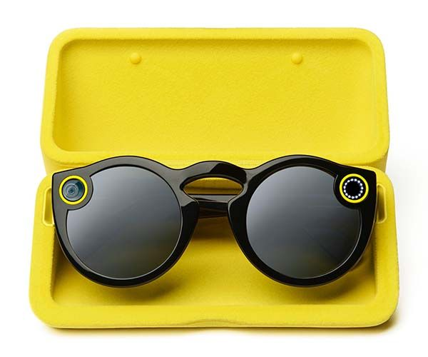 Snapchat Spectacles Camera Equipped Sunglasses