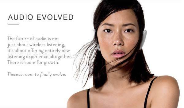Sound Wireless Headphones Inspired by Human Ears