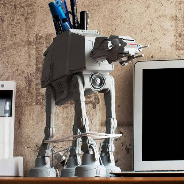 Star Wars At At Multi Stand Desk Organizer Gadgetsin