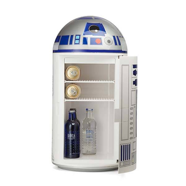 Star Wars R2 D2 14 Liter Mini Fridge Gadgetsin