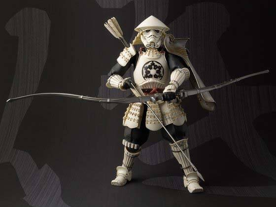 Star Wars Samurai Styled Stormtrooper Action Figure
