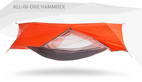 Sunda 2+ Person All-In-One Hammock Tent