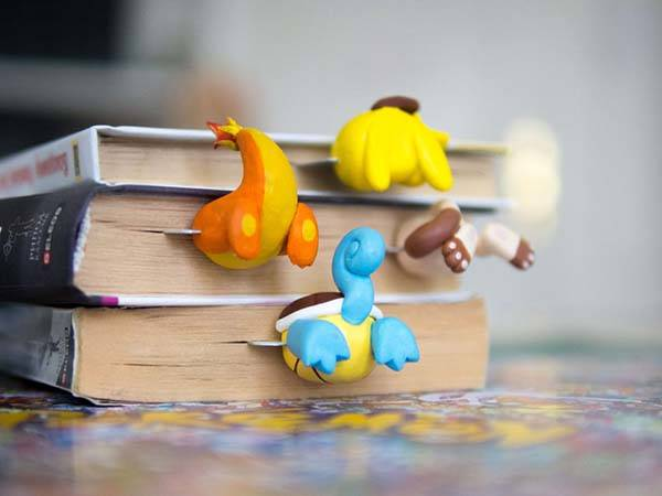 Handmade Pokemon GO Bookmarks